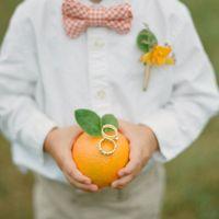 Подушечка-апельсин для колец