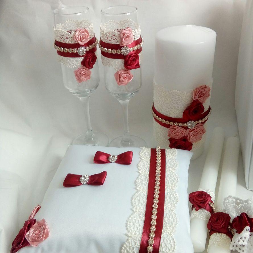 """Фото 17469654 в коллекции Свадебные аксессуары. Наборы. - Дизайн-студия """"Ярко"""""""