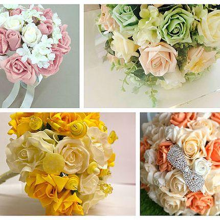 Букеты для невесты из любых цветов