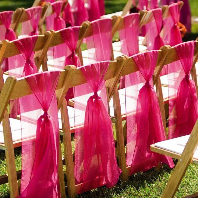 Как украсить стулья для свадьбы своими руками
