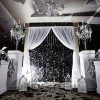 Зона церемонии, идеи зимней свадьбы