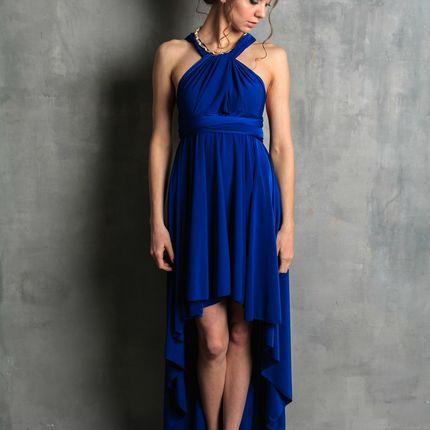 Платье-трансформер асимметричное