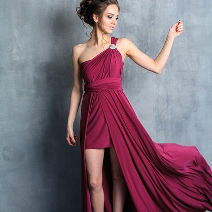 Платье-трансформер с двойной юбкой