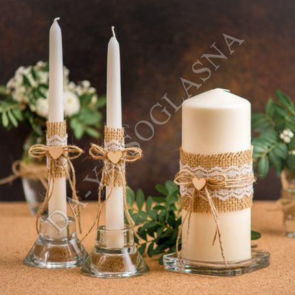 """Свадебные свечи """"Эко"""""""