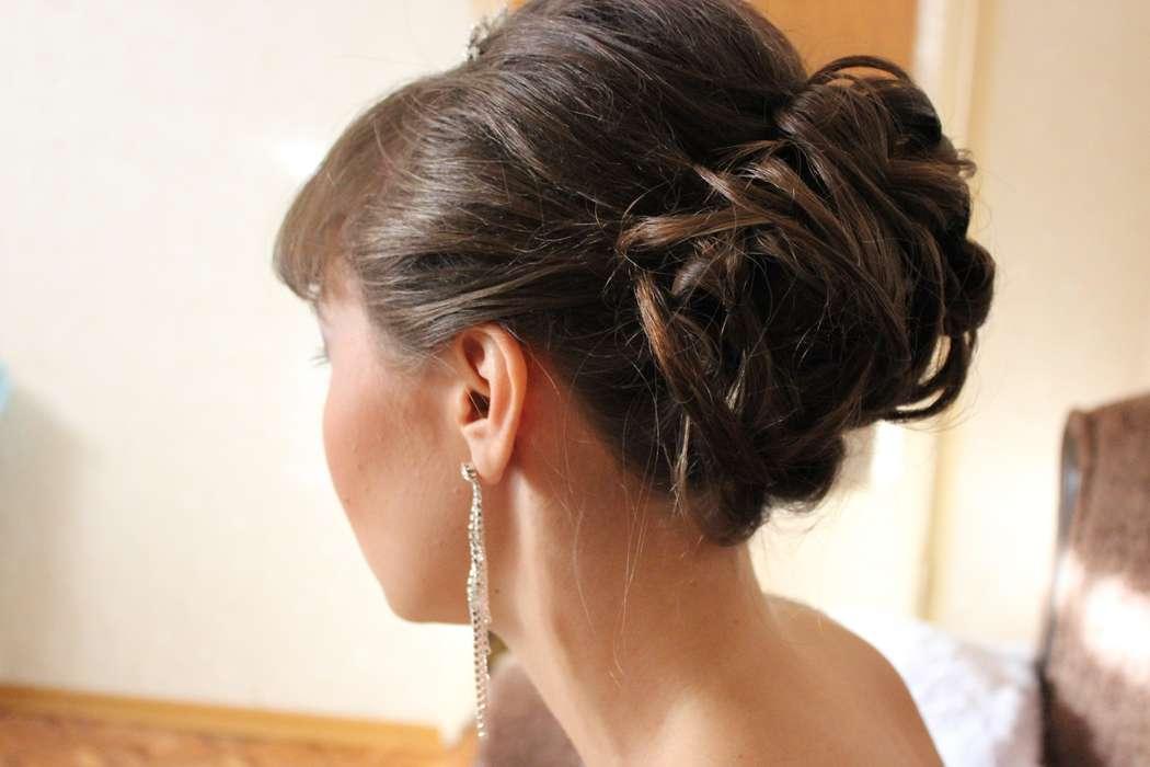 собранная прическа - фото 1878315 свадебный стилист Александра