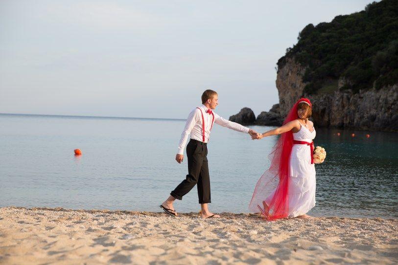 корфу свадебная фотосессия момент