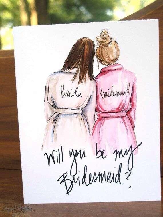 Марта, как нарисовать открытку на др лучшей подруге
