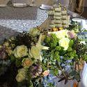 """Композиция на президиум в морской тематике от Мастерской декора """"Mi Amor"""" оформление свадьбы цветами."""