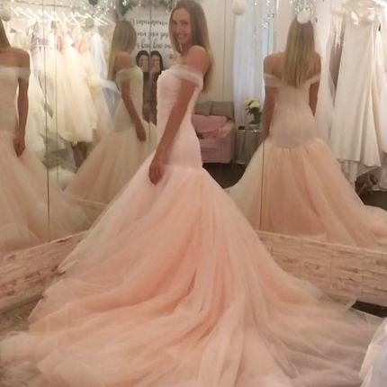 Свадебное платье Boom Blush