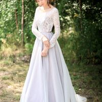 Свадебное платье Роскошный букет