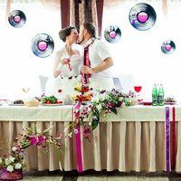 Музыкальная свадьба, украшение през