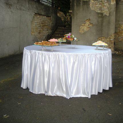 Скатерти и юбки на стол - аренда