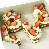 """Торт """"Вкусные буквы"""""""