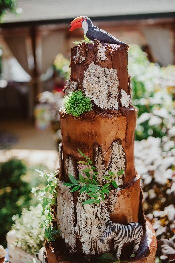 для свадьбы в стиле рустик, топической свадьбы торт с шоколадной корой и мхом из молекулярного бисквита, стоимость 1900 Р/кг - закажите торт за 1 месяц или ранее и получите каждый 3-ий кг в подарок - фото 17665326 Sweet - кафе-кондитерская