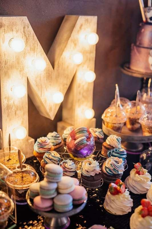 """Сладкий фуршетный стол в стиле """"Космическая вечеринка"""" Стоимость от 200 р/гостя - фото 17665364 Sweet - кафе-кондитерская"""