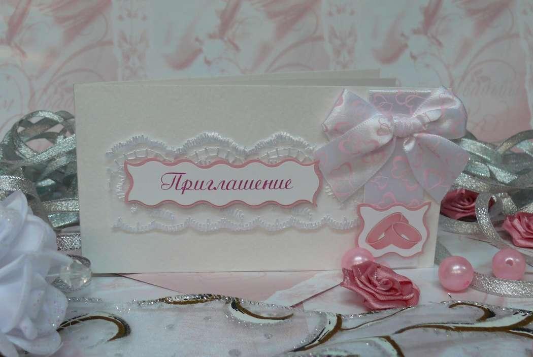 Приглашение на свадьбу в наличии и на заказ - фото 1978309 Мастерская открыток Бантик