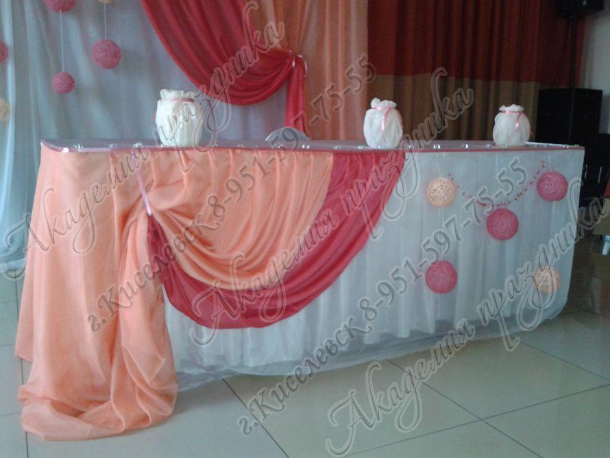 Фото 1995373 в коллекции Оформление свадебного зала - Академия Праздника - оформление свадеб