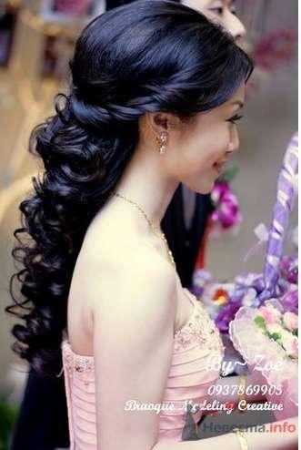 Прически на длинные волосы на свадьбу подруги