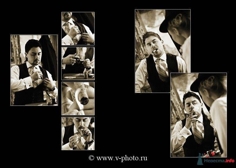 """Фото 94531 в коллекции Тематическая фотосъёмка-лавстори """"Гангстеры"""", развороты фотокниги - Свадебные фотографы StoryOfMoments"""