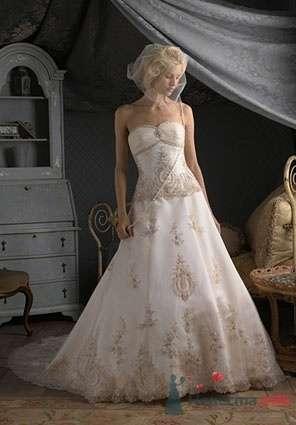 Свадебное платье D2053 - фото 13836 Невеста01