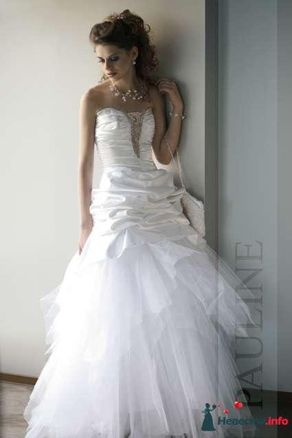 """свадебное платье """"Адель"""" (фирма Pauline) - фото 160838 Свадебный салон """"Нефертити"""""""