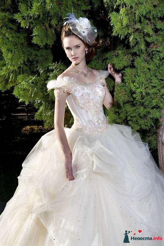 """свадебные платье """"Жизель"""" (фирма Irina-lux ) - фото 160844 Свадебный салон """"Нефертити"""""""