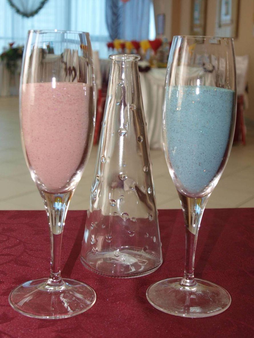 цветной песок для свадебной церемонии - фото 3972851 Декор-Фэнтези - аксессуары, сувениры