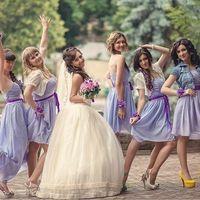 платья подружек