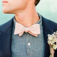 Персиковая бабочка или галстук