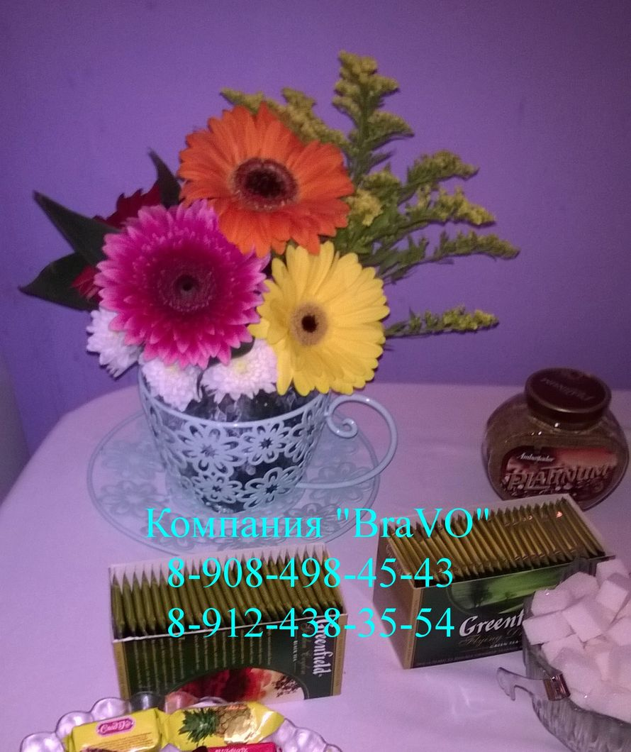 "Небольшой декор сладкого стола. - фото 2599919 ""Bravo"" - студия декора"