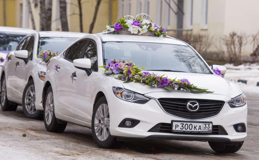 Фото 2040904 в коллекции Мои фотографии - Свадебный кортеж Mazda 6