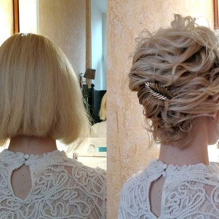 Причёска на каре