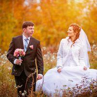 Фотоотчет о свадьбах,осень, лес, прогулка