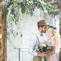Оформление свадебной фотосессии в стиле богемный шик