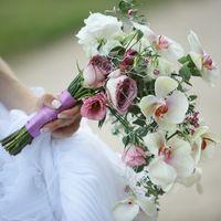 Букет невесты с орхидеями 4000 рублей