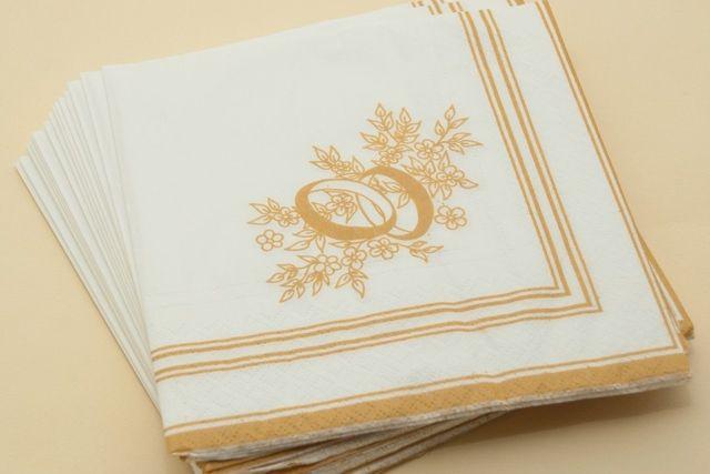 """Фото 2084462 в коллекции Мои фотографии - Свадебные салфетки """"Оригами"""""""