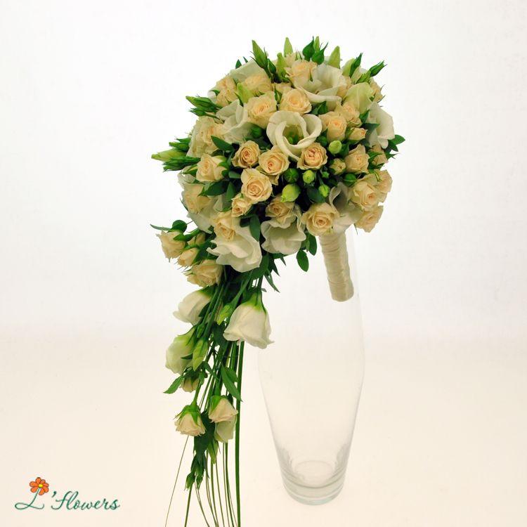 Букет капля с розами — pic 13