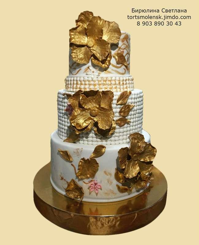 Фото 8199960 в коллекции Портфолио - Авторские торты от Бирюлиной Светланы