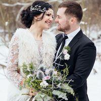 свадебная фотосессия зимой в питере