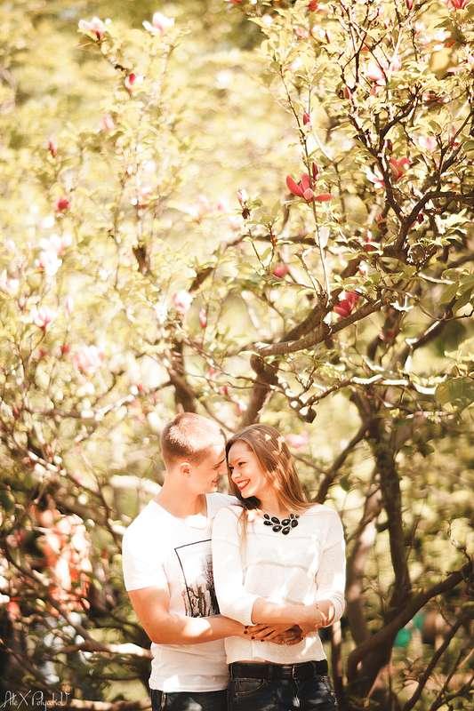 магнолия нынче в цвету - фото 2380990 Свадебный Фотограф Александр Поляков