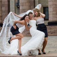 Невеста и её веселые подружки