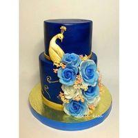 #InstaSize #instacake #vrn #wedding #cake #воронеж #назаказ #тортворонеж #розы #свадебныйторт #свадьба #свадьбаворонеж #синяясвадьба