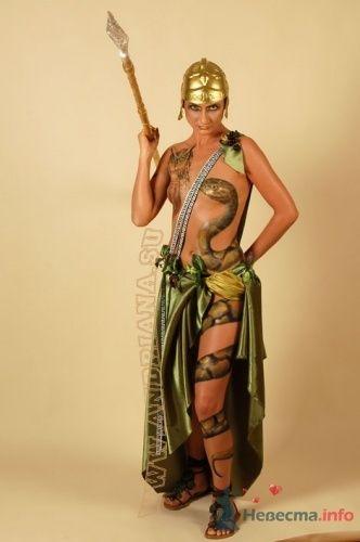 Богиня Афина . Наташа - фото 18660 Художник-визажист Андриана Юревич