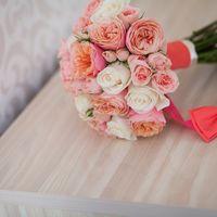 Восхитительный букет невесты.