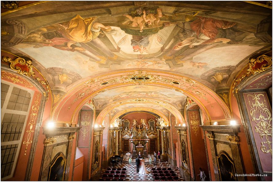 "Свадьба в Клементинуме - фото 12852252 ""Luxe svadba"" - свадьба в Чехии"
