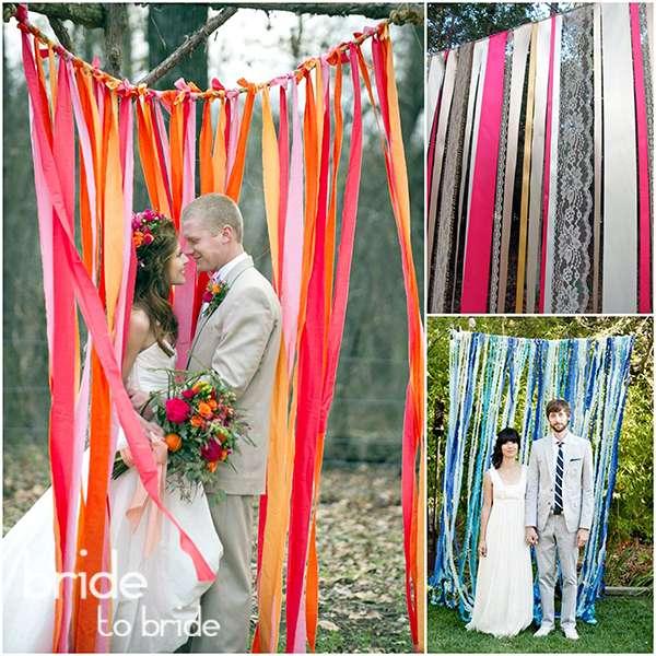 Оформление свадьба на природе своими руками 36