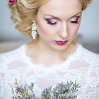 Свадебные прически и макияж iconBRIDE