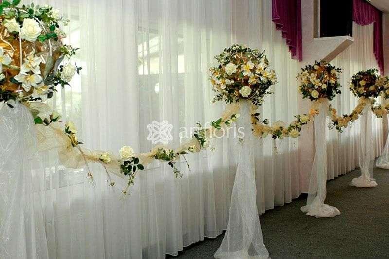Стойки на свадьбу оформление