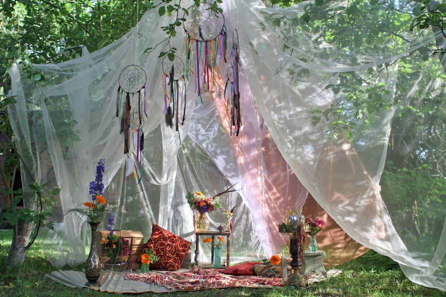 Фото зона в стиле бохо - фото 2648605 Green Umbrella - флористика и декор