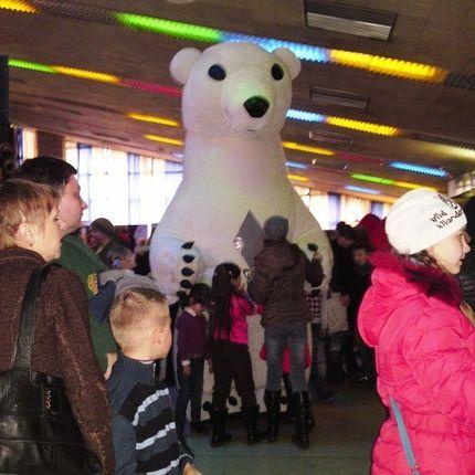 Ростовые кукла Белый медведь